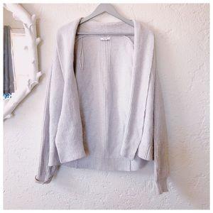 REISS wool sweater cardigan